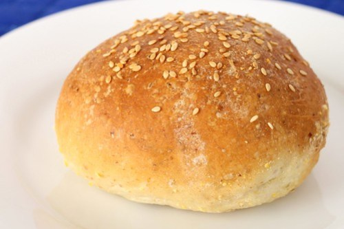 not-quite kaiser sandwich rolls