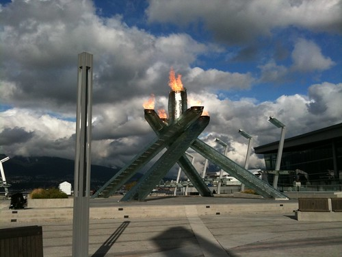 Olympic Cauldron in Vancouver