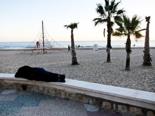 Españoles durmiendo