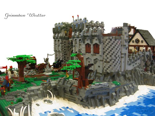Lego Castle Grimmhavn