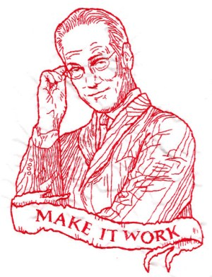 Tim Gunn embroidery