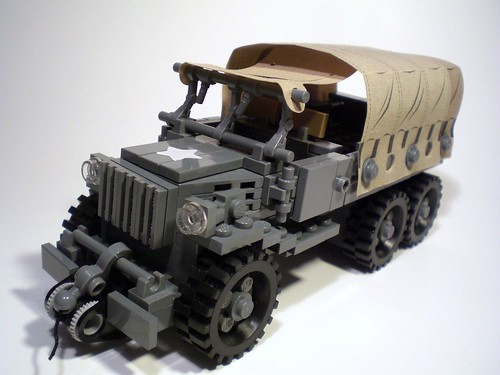 LEGO WW2 Deuce and a Half