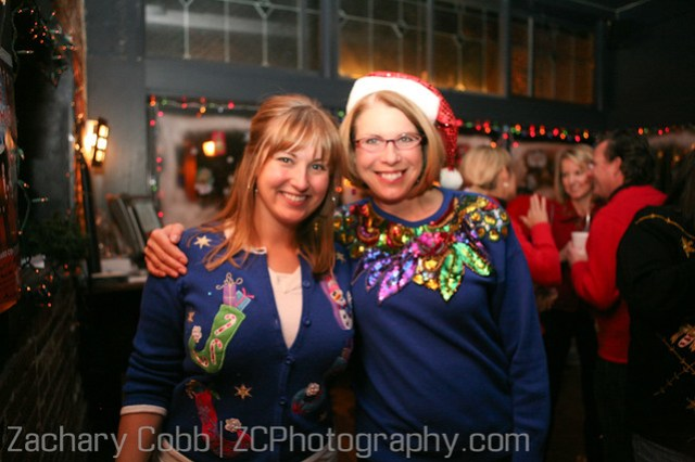 The Ugly Christmas Sweater Party, Party Pics - 2009-88