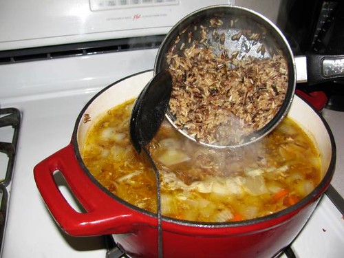 Smoked Turkey & Wild Rice Soup IMG_2781