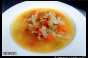 [西餐]湯類 蔬菜片湯