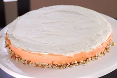 less boring cake with almonds