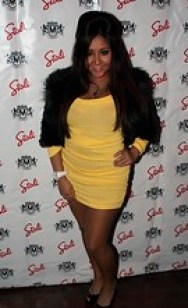 Snooki from MTV Jersey Shore