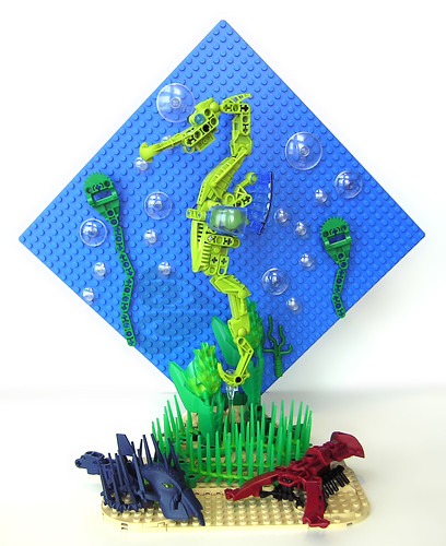 Lego Undersea Water Seahorse