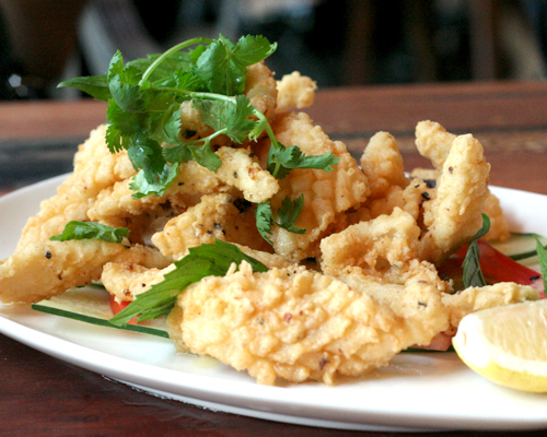 crispy squid