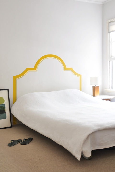 Blik + DIY Decal Headboards