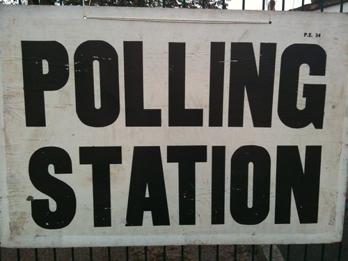 My local polling station