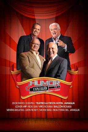 Cuquín, Freddy y Jochy, presentan eHumor Unplugged en el Jaragua