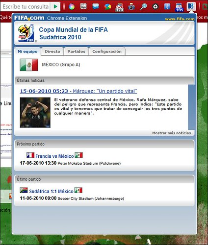 Fifa Chrome Extension
