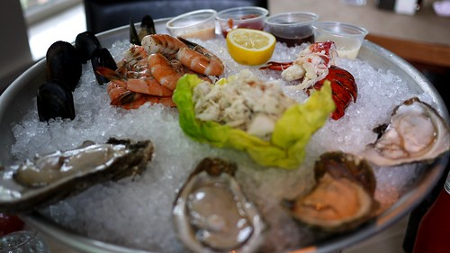 coast seafood - seafood tower by foodiebuddha.