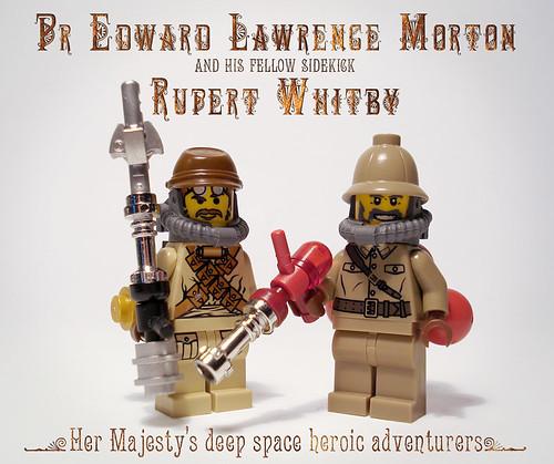 LEGO steampunk figures