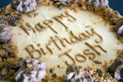 Peanut Butter Extravaganza Cake