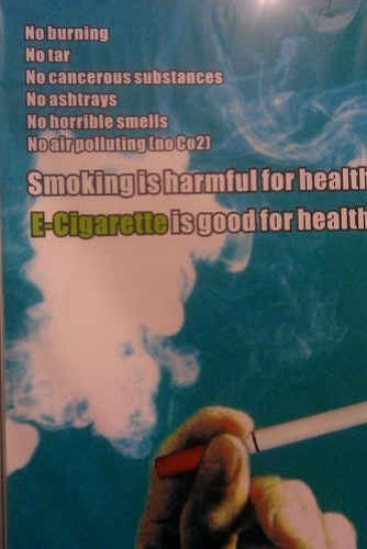 E-Cigarette is good for health.
