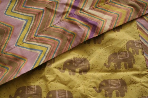 Elephant pillow sham