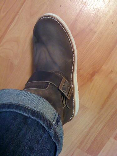 Nieuwe laarzen gekocht bij de Makro... Blij mee!!!