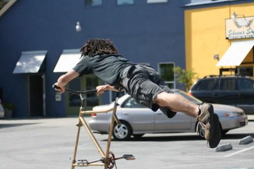 Tallbike Superman