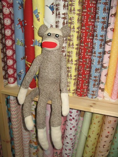 Meet Moe Sock Monkey