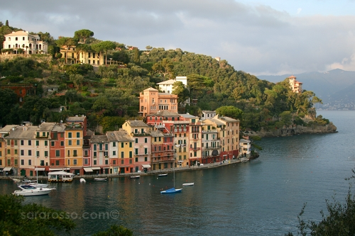 Another view of Portofino Bay, Italian Riviera, Italy