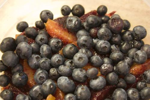 Fresh Blueberries & Blood Orange Segments