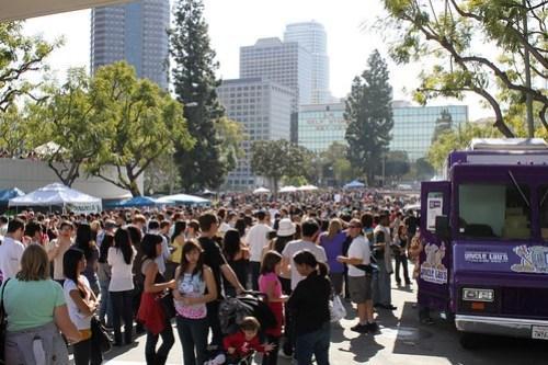 The LA food fest was mobbed last month