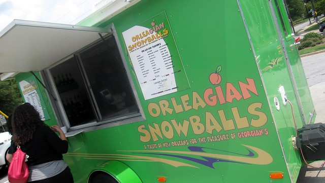 orleagian snowballs - the truck