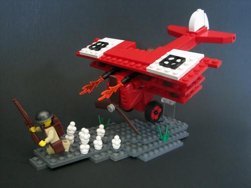 Lego World War I Fokker Tri-Plane Dr-1