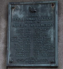 "American Revolutionary Soldiers in the Old Burying Ground • <a style=""font-size:0.8em;"" href=""http://www.flickr.com/photos/54494252@N00/4927522535/"" target=""_blank"">View on Flickr</a>"