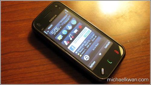 N97 mini smartphone