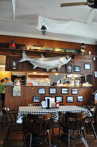 Loose Caboose Restaurant, Boca Grande, Florida