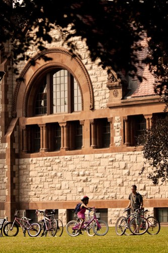 Library and bikes