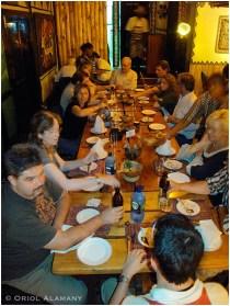 Sopar de comiat el darrer día a Nairobi, Kenia