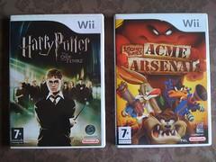Twee nieuwe spellen voor de #Wii gescoord op Marktplaats...