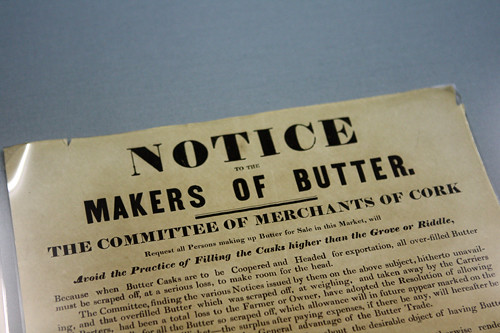 butter notice