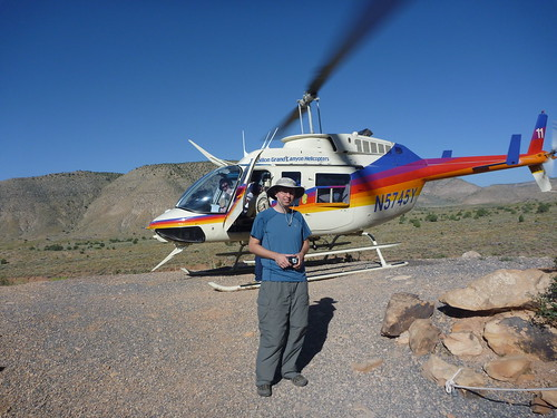 keith and helicopter