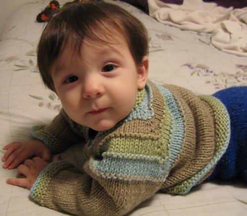 Seamless Knit Sweater