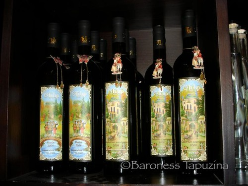 Michal Negrin Tulip Winery Bottles