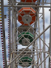 Ferris Wheel with umbrellas