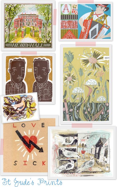 St. Jude's Prints