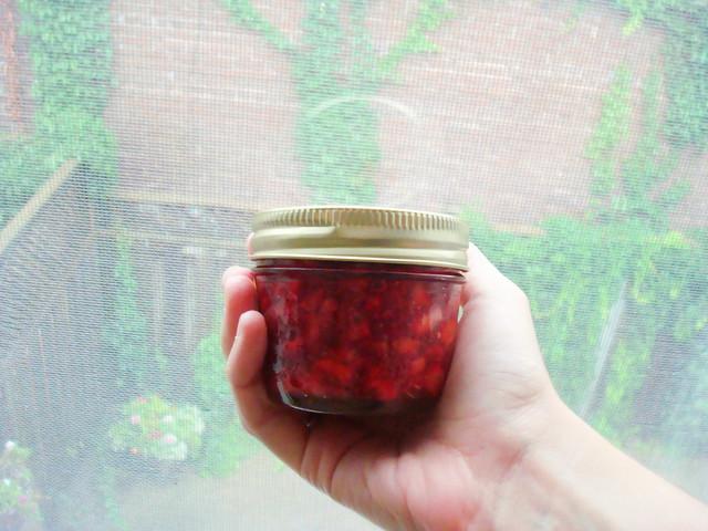homemade strawbery jam