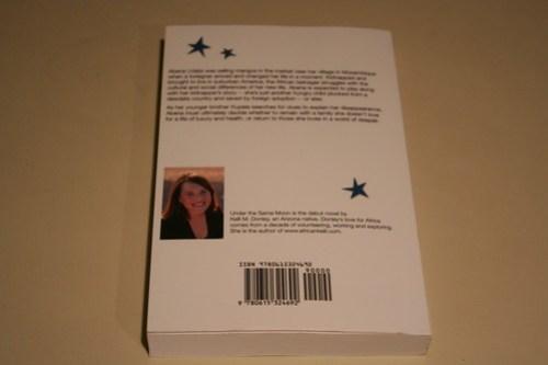 Back of my novel