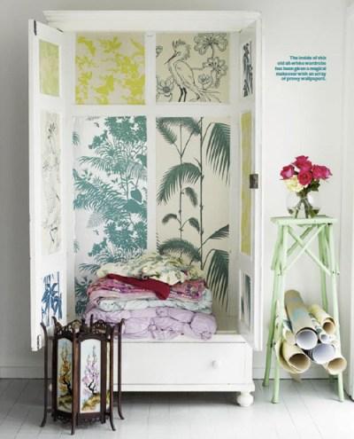 Wallpaper Cabinet by Shannon Fricke — decor8
