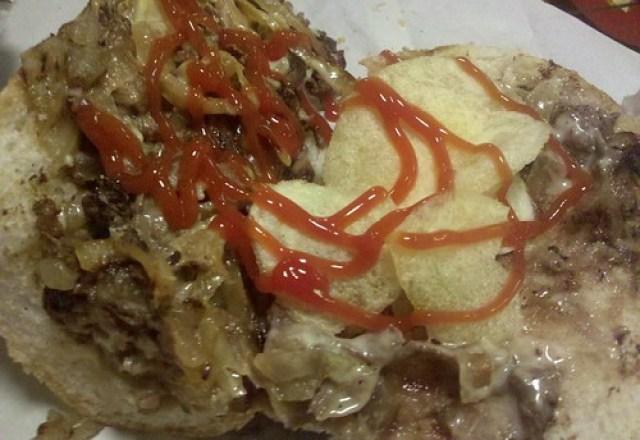 woody's cheesesteaks - the foodie buddha cheesesteak by foodiebuddha.
