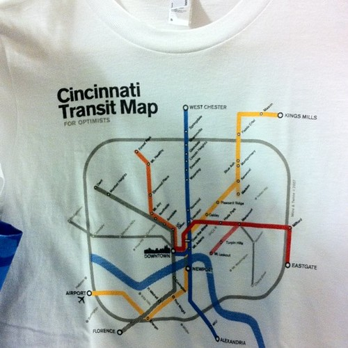 Cincinnati Transit Map
