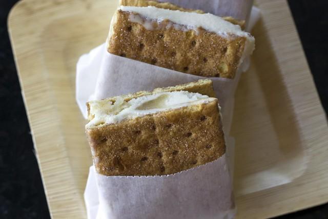 Apple Tatin Ice Cream Sandwiches