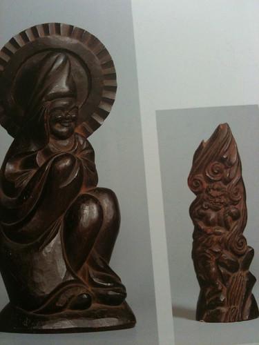 青柳家個人蔵の木喰仏