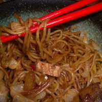 Yaki-Soba: Japanese Stir-Fried Noodles